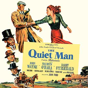 Image result for the quiet man 1952 poster