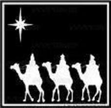 Epiphany: The 3 Kings arrive with gifts