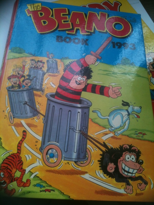 The Beano Annual - ex libris one of my children