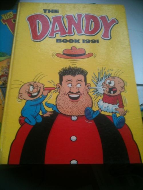 The Dandy Annual - ex libris one of my children