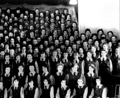 Me: 2nd row from Front, 3rd from right
