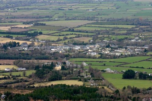 Clogheen, Co Tipperary. It was from countryside near here that William left home  for a new life in America. Image Wikimedia Commons