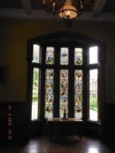 St Patrick's Window..top panes are original