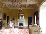 The drawing room, adjacent to the ballroom