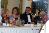 American Defence Attache and his wife Liz