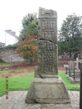 The West Cross, or Ruined Cross with fine carvings