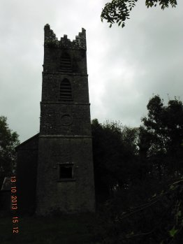 The now derelict Church