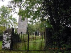 Entrance to graveyard
