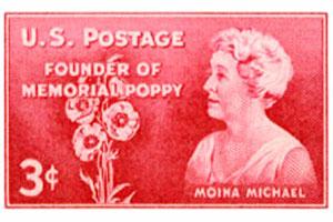 Moina Michael Commemorative Stamp