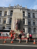 The Cenotaph is opposite the Foreign & Commonwealth Offiice