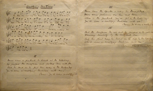 Waltzing_Matilda_Manuscript_-_Taken_in_National_Library_of_Australia_Gallery