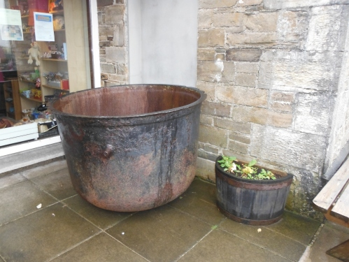 The soup pot at Dunfanaghy Workhouse