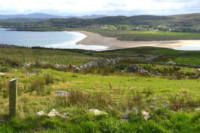 Sheephaven Bay and Dunfanaghy from Horn Head. Image Wikimedia Commons