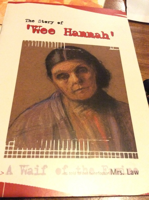 The story of Hannah Herrity, produced by Dunfanaghy Workhouse