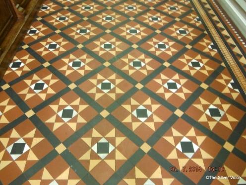 Detail of floor