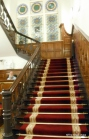 ..luxurious carpet and wood panelling
