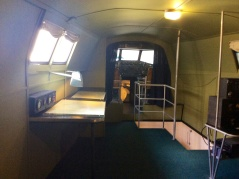 The fight deck of the Yankee Clipper