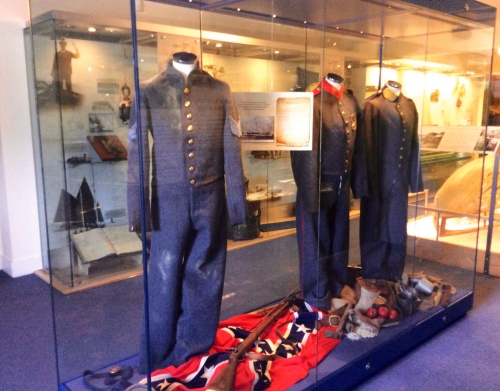 Tate Confederate Uniforms shipped to USA during  Civil war