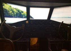 Cockpit of the Yankee Clipper