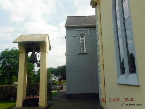 Original window on Ardpatrick school