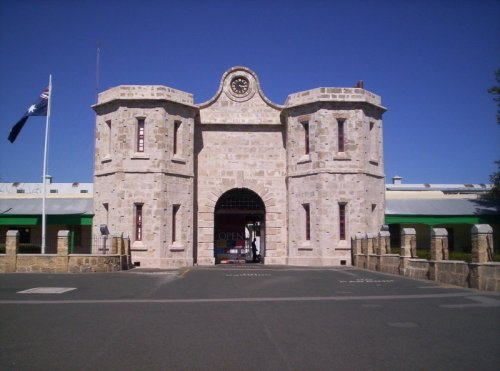 Fremantle Prison. Housed convicts transported between 1850 and 1868)