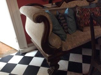 An original couch..