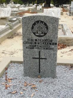 Martin O'Meara V.C. Finally at rest.