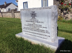 This monument was erected in 2013 in the village of Lorrha Co Tipperary