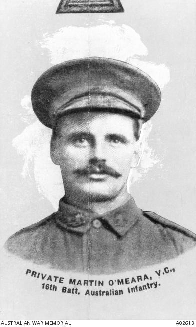 A bright-eyed Martin O Meara, date unknown (Australian War Memorial, public domain