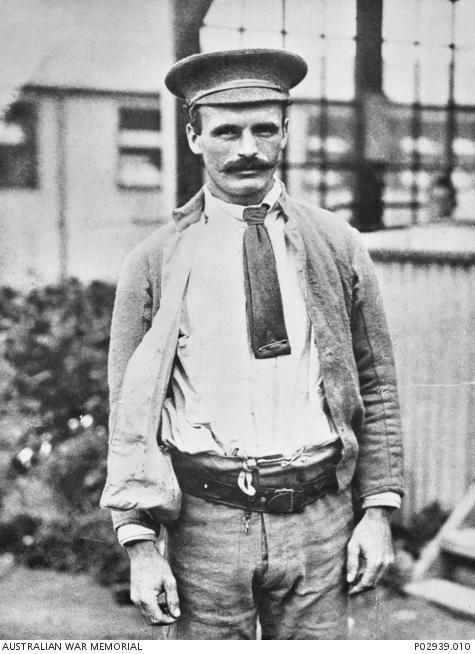 Outdoor photograph of Martin O'Meara, date unknown. (Australian War Memorial, public domain)