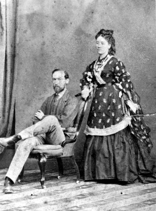 C.Y and Susan OConnor  in 1865