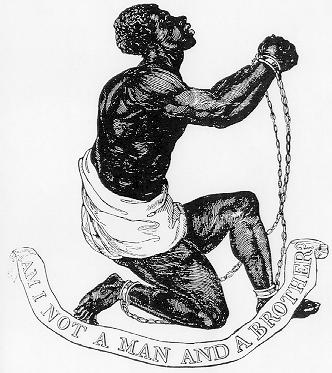 Official medallion of the British Anti-Slavery Society (1795) Produced by Wedgewood Factory. (Image Wikimedia)