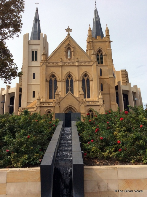 St Mary's Cathedral, Perth, Western Australia. (Formally known as the Cathedral of the immaculate Conception of the Blessed Virgin Mary)