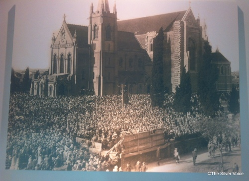 Huge crowds attended the opening in 1930