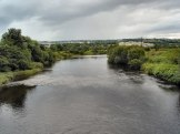 The River Finn at Ballybofey, County Donegal ( Image Wikimedia Commons)