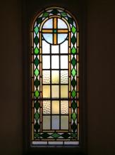Lovely leaded window