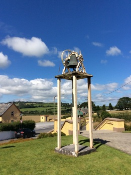 The old Angelus Bell, now rusted and unrung