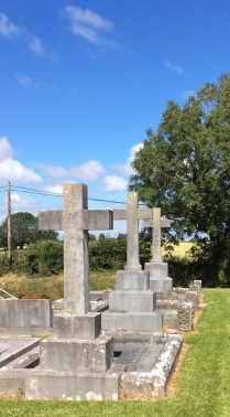 Graves of clerics