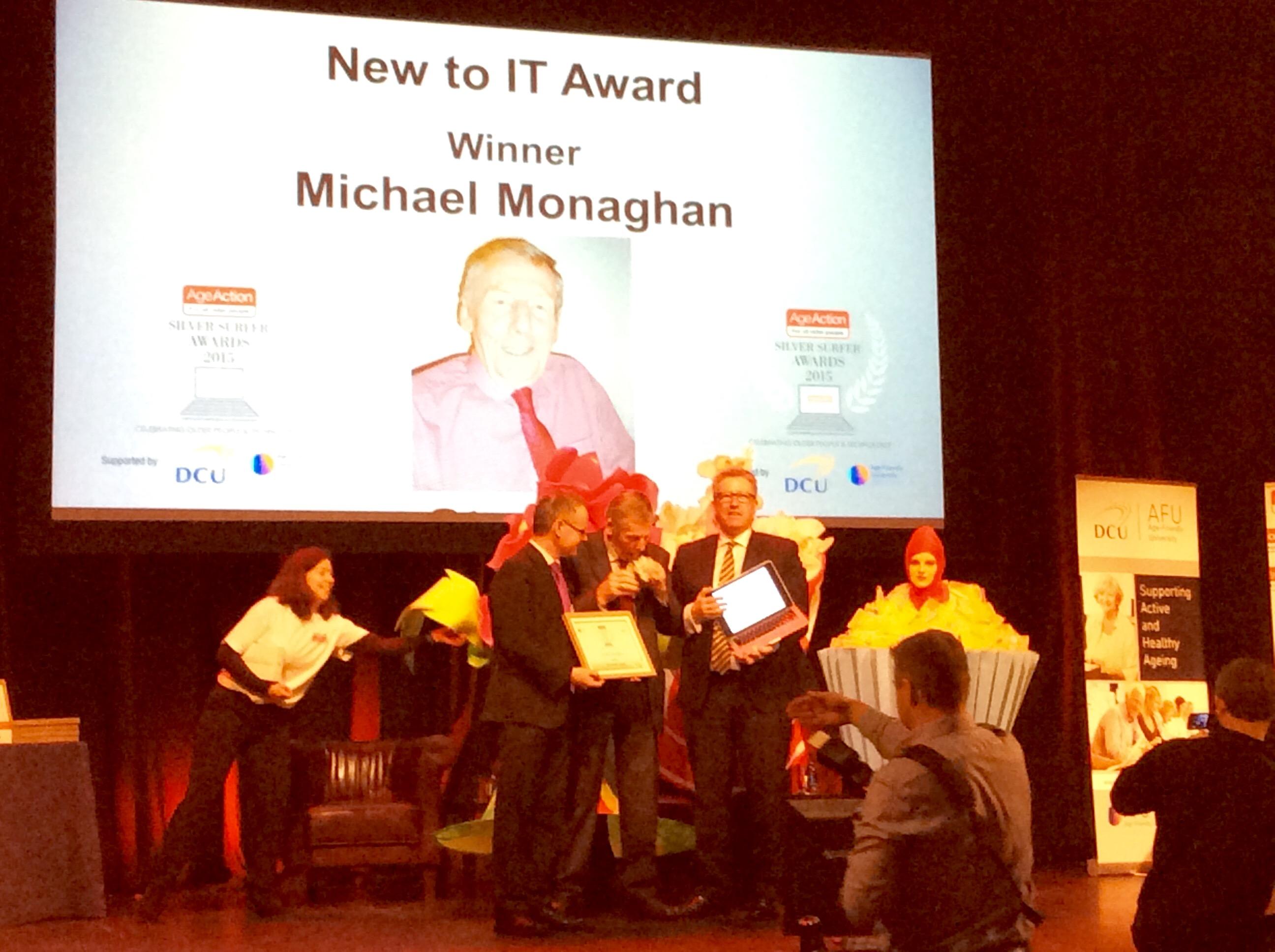 Michael Monaghan was the winner