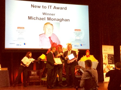 Michael Monaghan was the winner