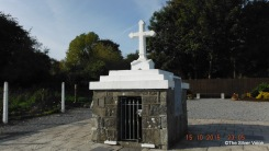 St Molua's Well, where pilgrims pray for miracles. (Image thesilvervoice)