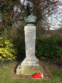 Tom Kettle Memorial. Erected 1937