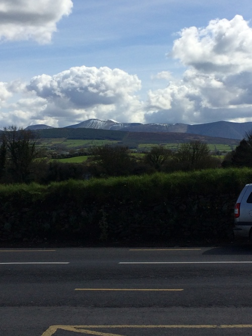 The Golden Vale at the foot of the Galtee Mountains