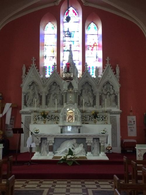 The High Altar, RC Church Lattin Co Tipperary