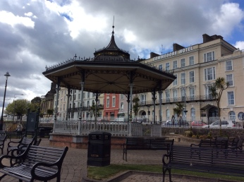 Bandstand used for concerts and extensively restored in a millenium project