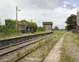 Swinford Railway Station where my maternal greatgrandmother lived until her death in 1953