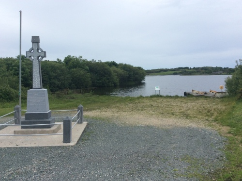 Kindrum . This is a memorial to Fanad men who assassinated the tyrannical landlord, the 3rd Earl of Leitrim