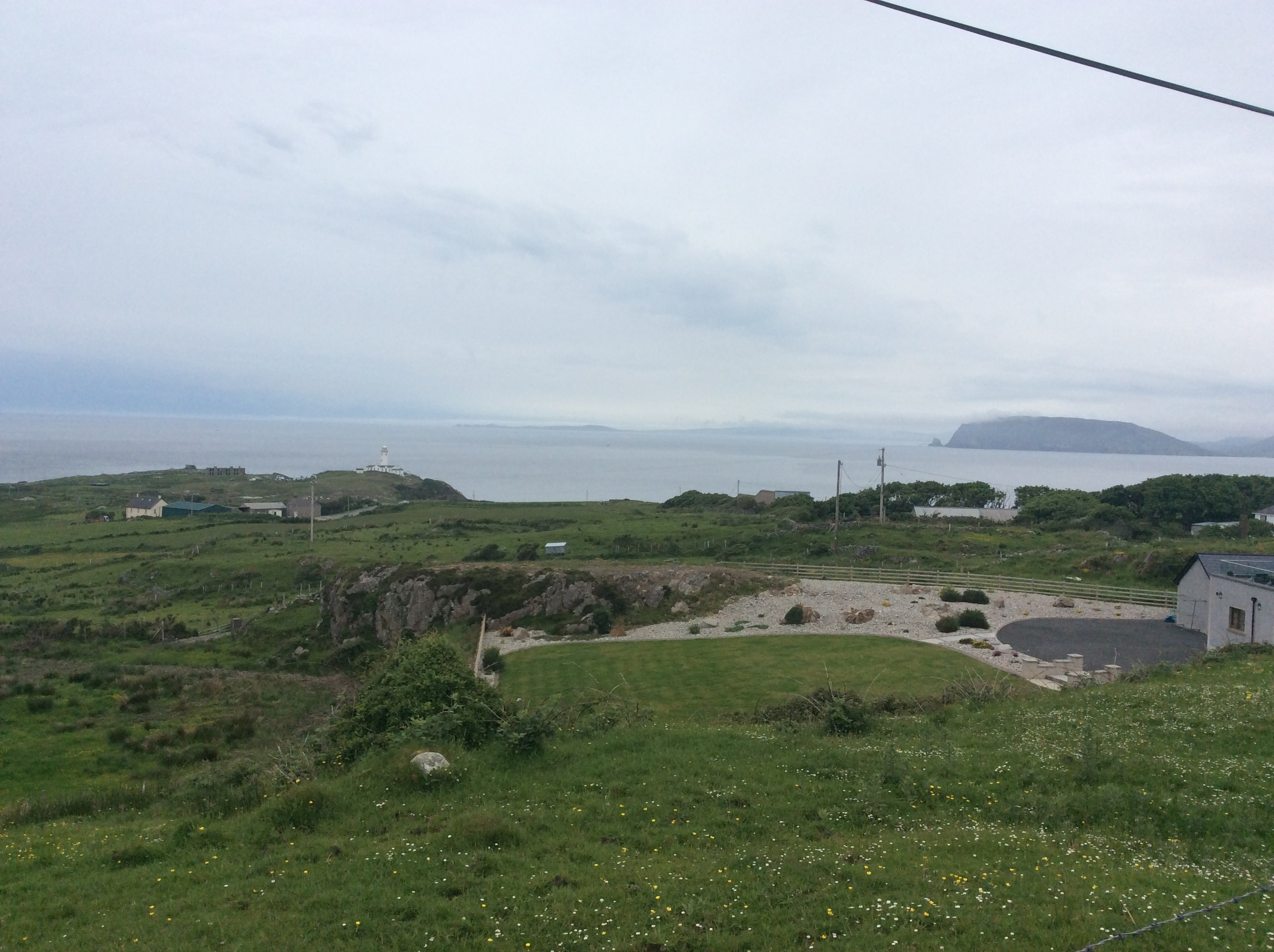 Fanad Head - The first glimpse