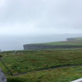 Looking back towards Downpatrick Head