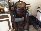 Another churn, a tumble type, for butter making